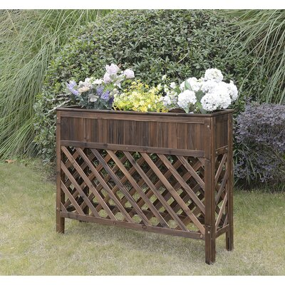 Swell Convenience Concepts Patio Fir Wood Raised Garden Finish Ibusinesslaw Wood Chair Design Ideas Ibusinesslaworg