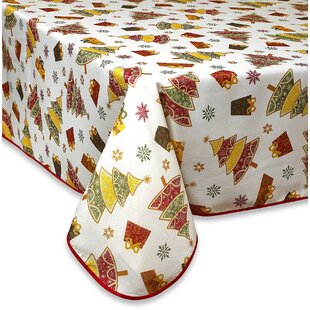 Gifts and Trees Decorative Christmas Tablecloth