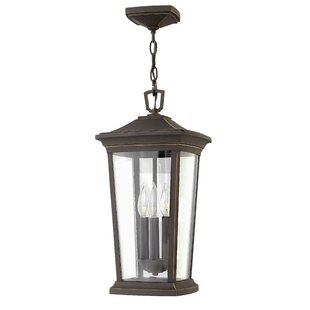 Best Reviews Bromley 3-Light Outdoor Hanging Lantern By Hinkley Lighting