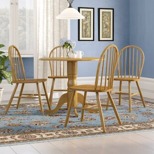 Brenna Folding Dining Set With 4 Chairs By Brambly Cottage