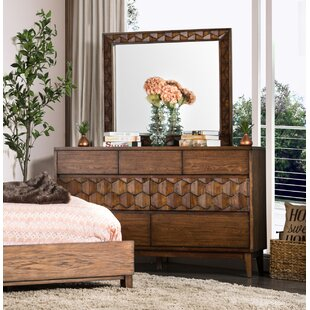 Keefe Transitional 7 Drawer Dresser