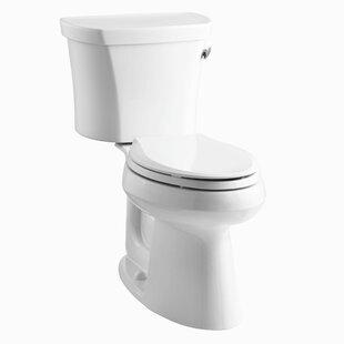 Kohler Highline 1.28 GPF Elongated Two-Piece Toilet