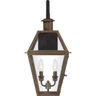 Lois 2-Light LED Outdoor Wall Lantern by ..