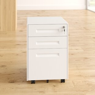 Chesser 3 Drawer Filing Cabinet By Symple Stuff