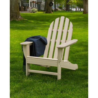 Classic Adirondack Chair Color: Sand