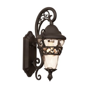 Top Anastasia 1-Light Outdoor Wall Lantern By Kalco