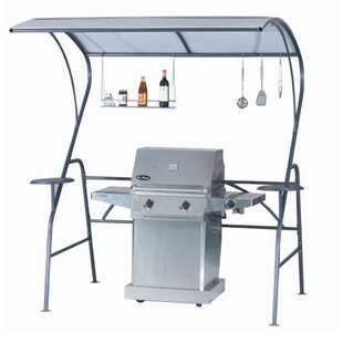 Shade Trend 7 Ft. W x 4 Ft. D Steel Grill Gazebo
