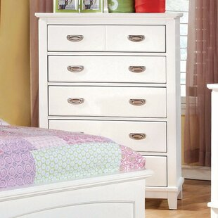 Harriet Bee Cheshire Wooden 6 Drawer Chest