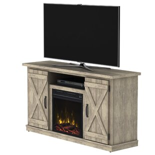 Leisa TV Stand for TVs up to 55 with Electric Fireplace by Laurel Foundry Modern Farmhouse