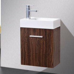 Floating & Wall Mounted Bathroom Vanities You\'ll Love | Wayfair