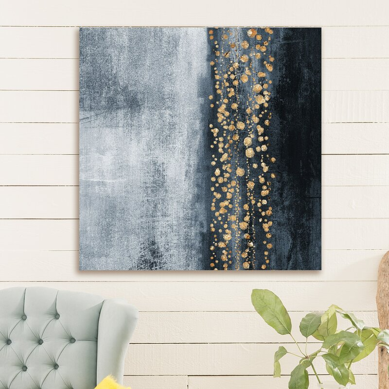 'Down the River' Painting Print on Wrapped Canvas