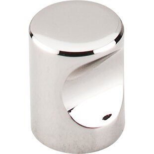 Nouveau II Indent Novelty Knob by Top Knobs Modern