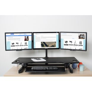 Brotherhood Height Adjustable Standing Desk by Symple Stuff Find