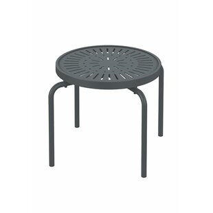 La'Stratta Stacking Tea Aluminum Side Table