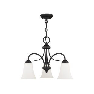 Alcott Hill Grady 3-Light Shaded Chandelier
