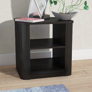Polito Wood 2-Shelf Nightstand
