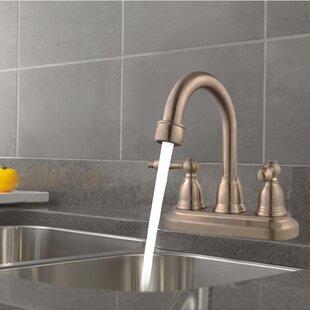 Cadell Centerset Three Hole Bathroom Faucet Image
