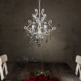 House of Hampton Alida 4-Light Candle Style Chandelier