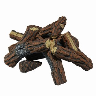 Review Ceramic Decorative Firewood For Fireplaces