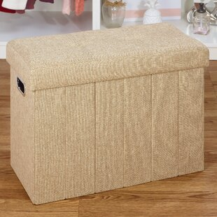 Collapsible Storage Ottoman by Rebrilliant