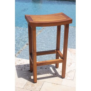 Sumba 30 Bar Stool Aqua Teak
