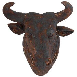 Top Bull Head Wall Decor | Wayfair YD86