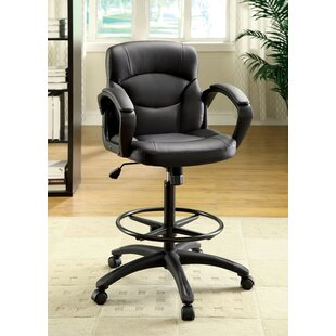 Ebony Drafting Chair