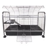 Rabbit Cage with Ramp