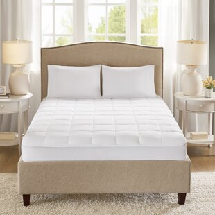 Copper Polyester Mattress Pad