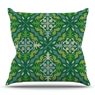 Yulenique By Miranda Mol Outdoor Throw Pillow by East Urban Home