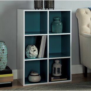 Two-Tone Organizer Cube Unit Bookcase