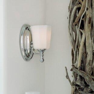 Best Hervey 1-Light Wall Sconce By Alcott Hill
