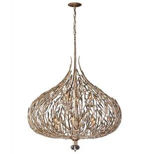 Varaluz Bask 9-Light Globe Chandelier