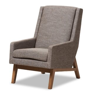 Brydon Upholstered Armchair by George Oliver
