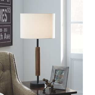 Bittinger Wood 26.5 Table Lamp (Set of 2)