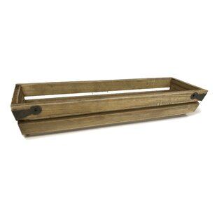 1-Bottle Slat Wood Wine Packing Carrier