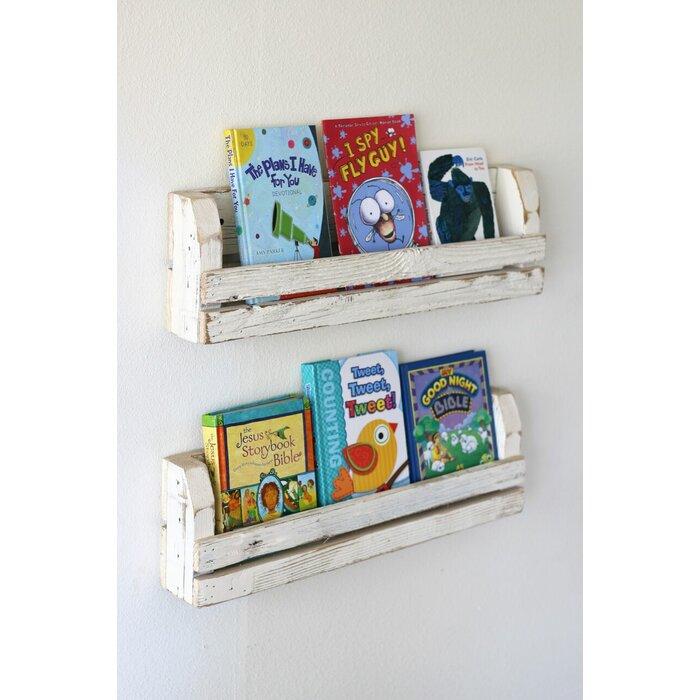 Surbit Slatted Wall Shelf