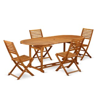 Trevion 5 Piece Patio Dining Set by Longs..