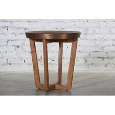 Erin Spiral End Table by Bloomsbury Market