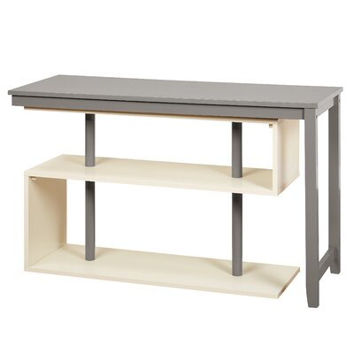 Mattocks Solid Wood L-Shape Writing Desk Brayden Studio Finish: Gray/White