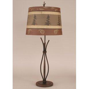Coast Lamp Mfg. Rustic Living Iron Stack 32.5