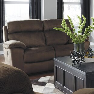 Bayat Power Adjustable Headrest Reclining Loveseat