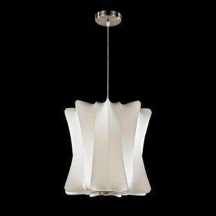 1-Light Geometric Pendant by Legion Furniture