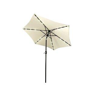 Fiqueroa 9' Lighted Umbrella by Brayden Studio