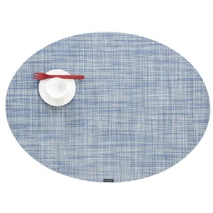 Mini Basket Weave Oval Table Placemat