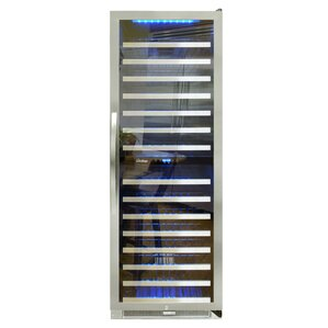 155 Bottle Connoisseur Dual Zone Convertible Wine Cellar by Vinotemp