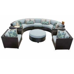 Camak 8 Piece Sectional Seating Group with Cushions
