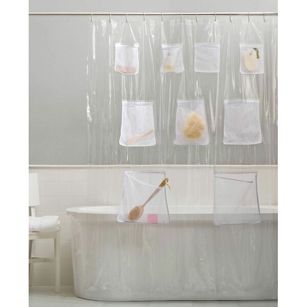 Shower Curtain With Pockets | Wayfair