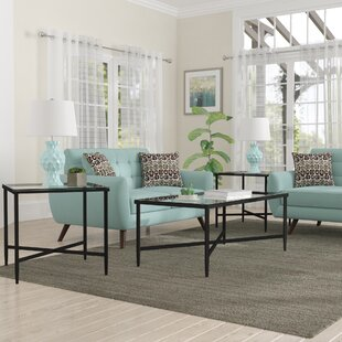 Melanie 3 Piece Coffee Table Set
