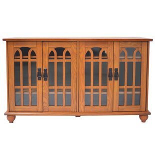 Lytle Arched-Door Style 4 door TV Stand for TVs up to 48